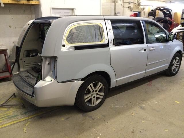 Back Side Panel Repair